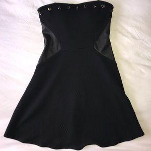 VS Embellished Black Dress
